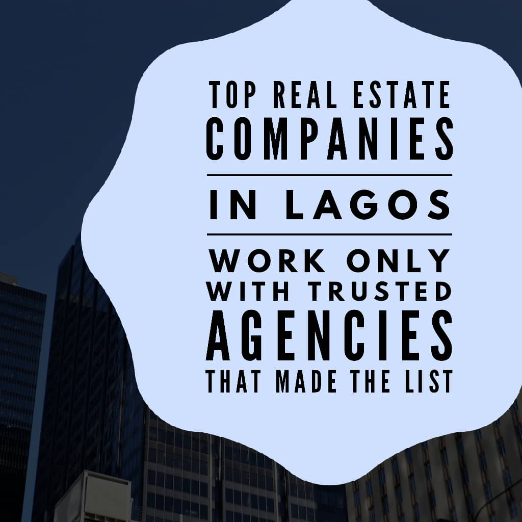 topreal estate agencies in lagos