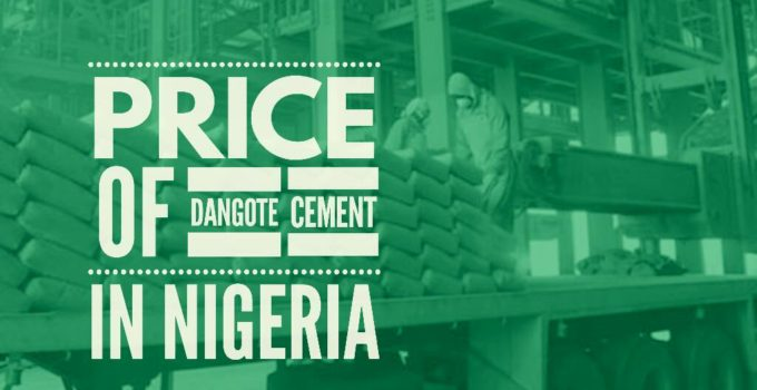 price of dangote cement in nigeria