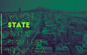 state is the smallest in nigeria