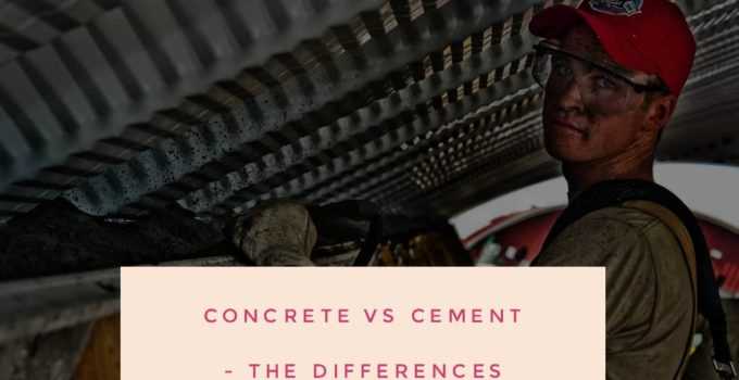 concrete 680x350 - Concrete Vs Cement - The Differences You Need To Understand