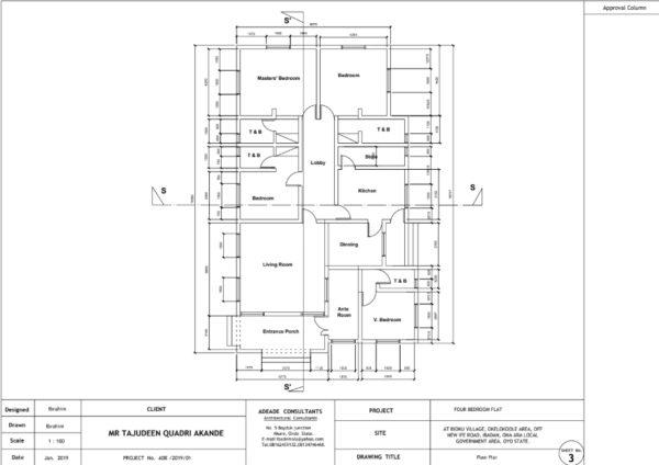 4 bedroom design