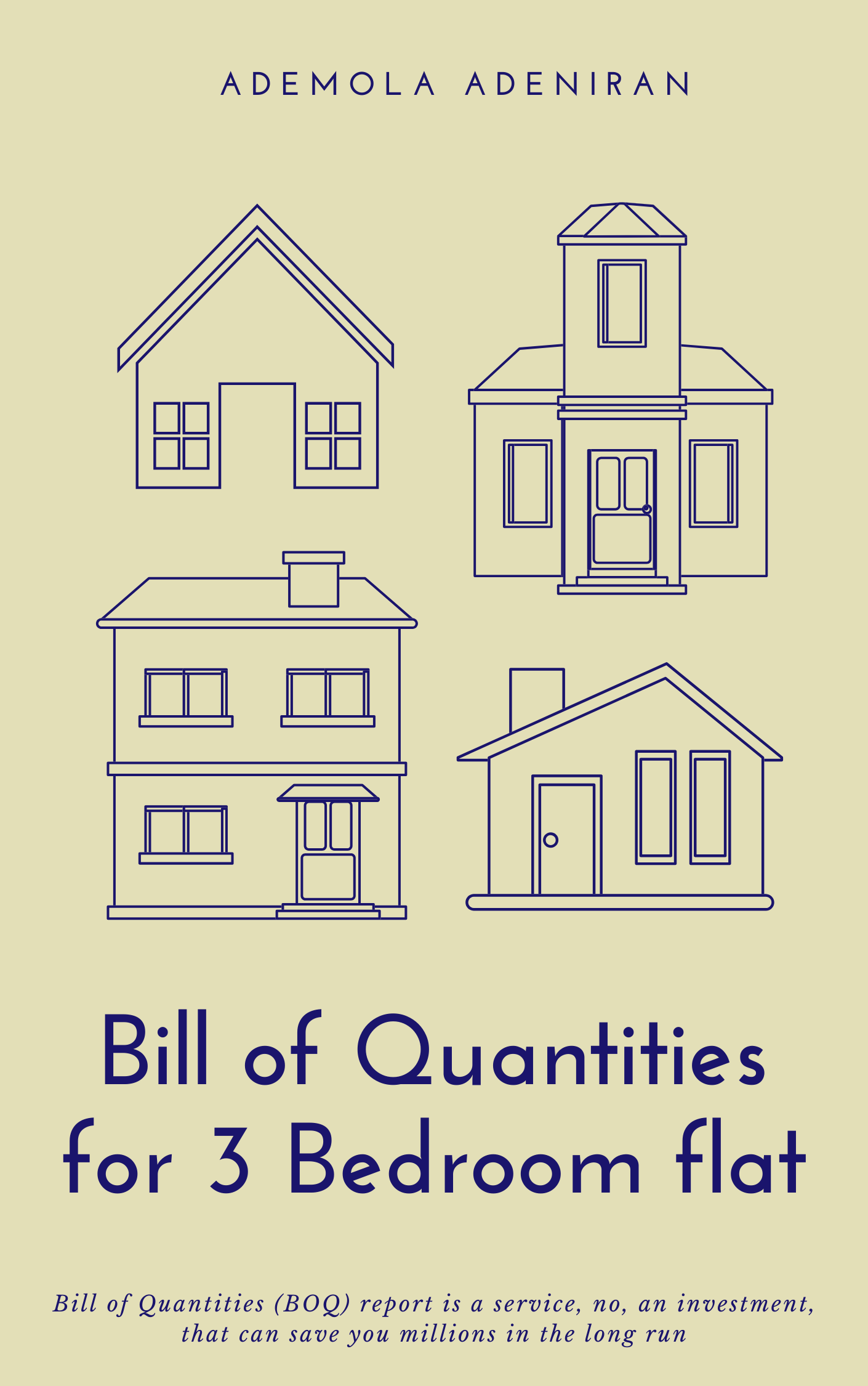 2 1 - 3 Bedroom Flat Bill Of Quantities (BOQ) – Save That Money !!