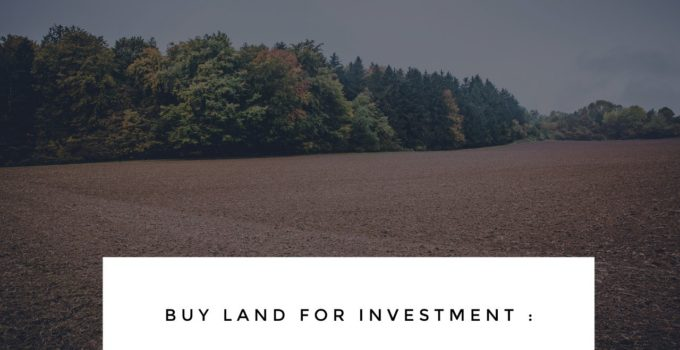 Buy Land for Investment
