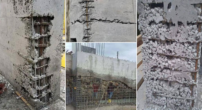 honeycomb in concrete - Everything You Need To Know About Concrete Honeycombing