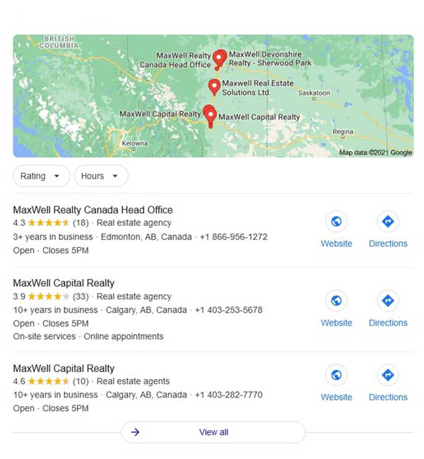 Let Search Engines Know Where Your Agency Is - R/E Online Reputation Management